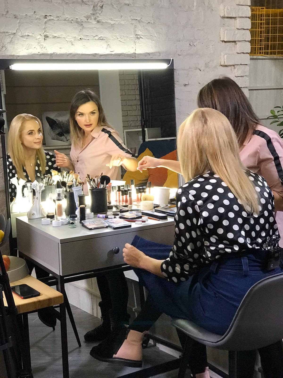 макияж для телеведущих