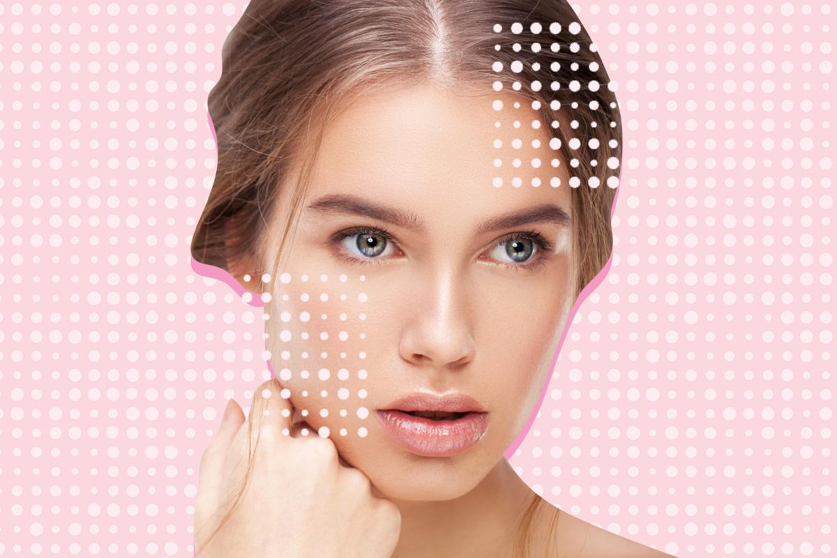несовершенства макияж
