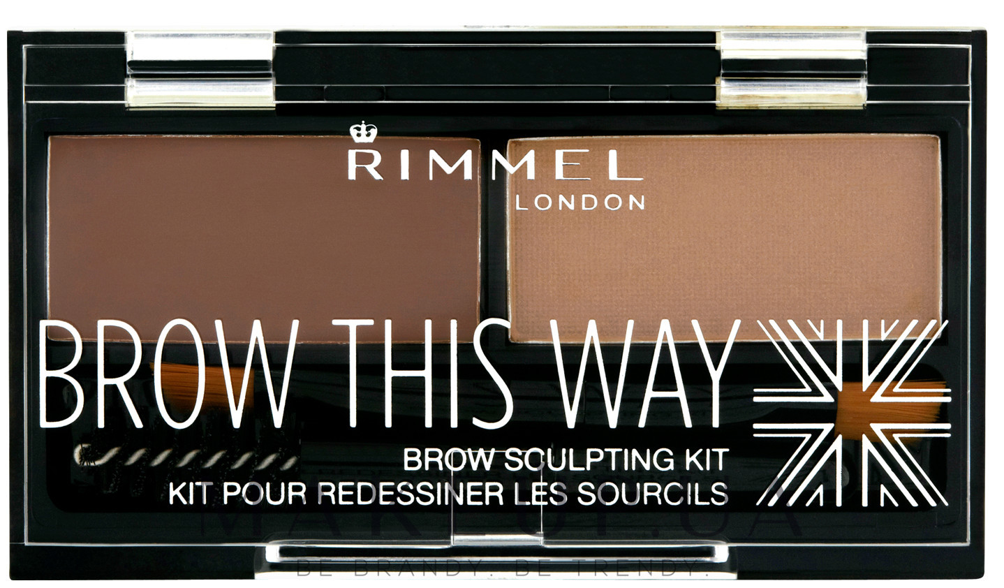 Brow This Way Eyebrow Sculpting Kit от Rimmel