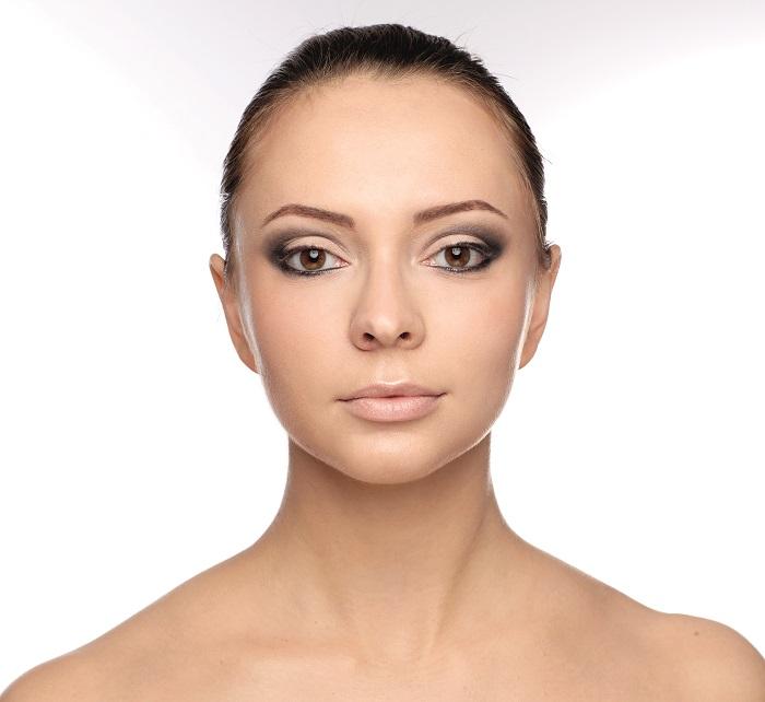 макияж глаз с шиммером
