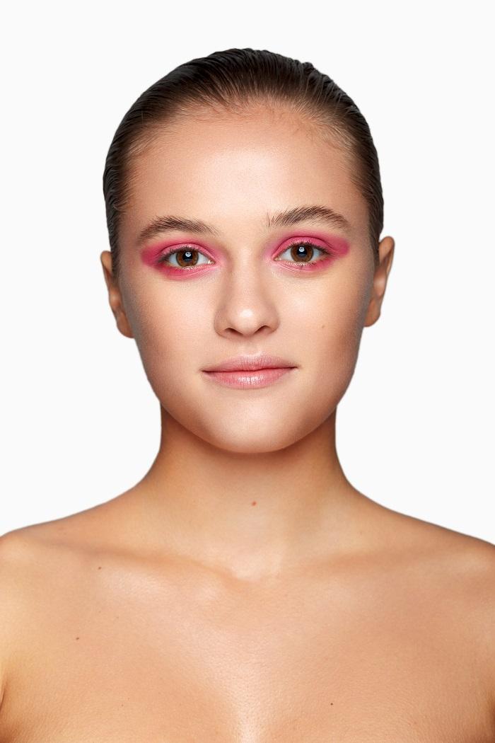 глиттер макияж глаз