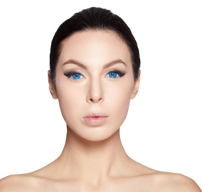 макияж синий цвет 2020