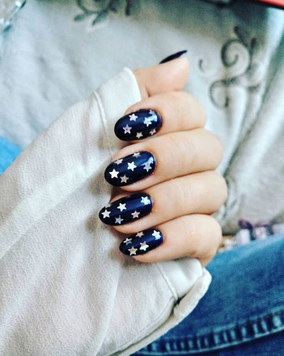 звезды ногти